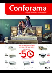 Folhetos Conforama : Especial colchões e quartos até -50%