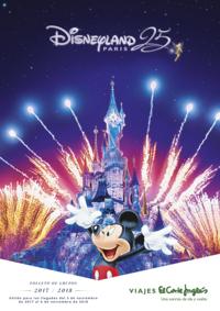 Catálogos y colecciones Viajes El Corte Inglés Alcorcón San José de Valderas : Disneyland Paris grupos 2017-2018