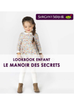 Catalogues et collections Sergent Major : Lookbook enfant Le manoir des secrets