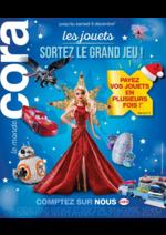 Catalogues et collections Cora : Les jouets sortez le grand jeu !