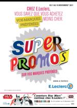 Prospectus E.Leclerc : De -20% à -50% de réductions immédiates ou différés