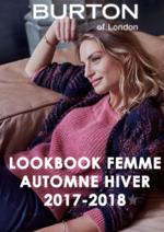 Promos et remises  : Lookbook femme automne hiver 2017-2018