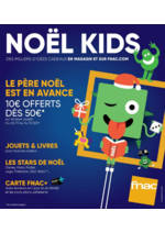 Catalogues et collections FNAC : Noël kids