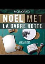 Catalogues et collections Monoprix : Noël met la barre hotte : les catalogues