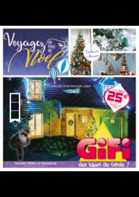 Prospectus Gifi : Voyagez au pays de Noël