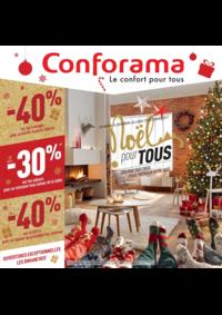 Prospectus Conforama CREIL - ST MAXIMIN : Noël pour tous