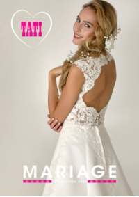 Catalogues et collections Tati PARIS : Mariage Collection 2018