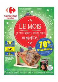 Prospectus Carrefour Market GALLARDON : Le mois acte 4