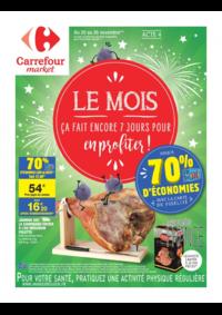 Prospectus Carrefour Market MASSY : Le mois acte 4