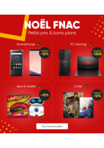 Catalogues et collections Fnac : Noël FNAC