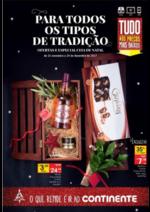 Folhetos Continente Modelo : Ceia de Natal