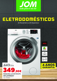 Folhetos JOM Montijo : Eletrodomésticos