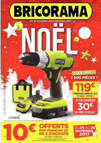Prospectus Bricorama NOGENT SUR MARNE : Noël