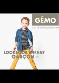 Catalogues et collections Gemo AUBERGENVILLE : Lookbook enfant garçon