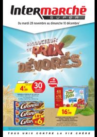 Prospectus Intermarché Super Chilly Mazarin : Producteur de prix dévorés