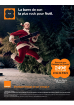 Prospectus  : La barre de son la plus rock pour Noël