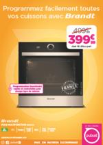 Promos et remises  : Four Brandt 399,99€ au lieu de 499,99€