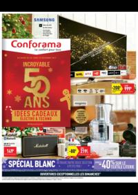 Prospectus Conforama : Incroyable 50 ans