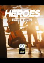 Guides et conseils  : Guide Go Sport Heroes Sports de combat