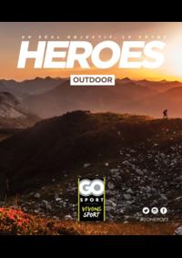 Guides et conseils Go Sport EVREUX : Guide Go Sport Heroes Outdoor