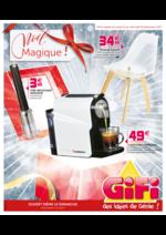 Prospectus Gifi : Noël magique !