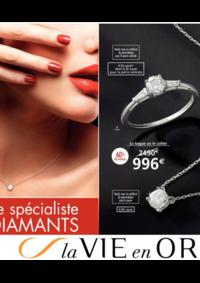 Catalogues et collections Auchan LA SEYNE S/MER : La vie en Or spécial diamants