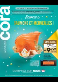 Bons Plans Cora LIVRY-GARGAN : Saveurs saumons et merveilles!