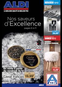 Prospectus Aldi Asnières-sur-Seine : Nos saveurs d'excellence