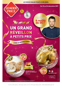 Menus Leader Price Paris 43 Rue Cler : Un grand réveillon à petits prix