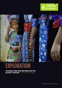 Catalogues et collections Verdié Voyages Tarbes : Découvrez la brochure Version Exploration