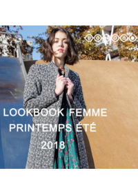 Catalogues et collections Bonobo Clermont Ferrand : Lookbook femme printemps 2018 III