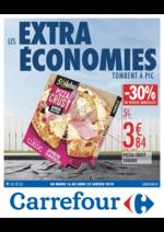Prospectus Carrefour : Les extra économies tombent à pic