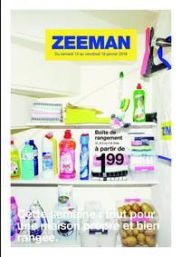 Prospectus Zeeman Asnières-Sur-Seine : Cette semaine: tout pour une maison propre et bien rangée