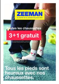 Prospectus Zeeman Asnières-Sur-Seine : 3+1 gratuit