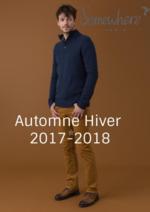 Catalogues et collections Somewhere : Les silhouettes homme automne hiver 2017-2018