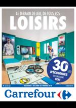 Prospectus Carrefour : Le terrain de jeu, de tous vos loisirs
