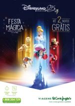 Folhetos Viagens El Corte Inglés : Disneyland Festa mágica até 2 noites gratis