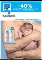 Promos et remises  : La Roche Posay -40% sur le 2ème produit hors lot