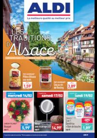 Prospectus Aldi Charenton-le-Pont : Les traditions d'Alsace