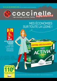 Prospectus Coccinelle Supermarché PARIS 108/110 RUE DES PYRENEES : Mes économies sur toute la ligne!