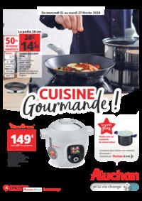 Prospectus Auchan : Cuisine gourmande !