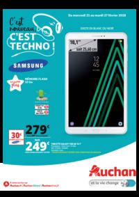 Prospectus Auchan LA SEYNE S/MER : C'est nouveau c'est techno