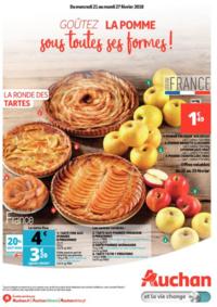 Prospectus Auchan Melun Senart Cesson : Goûtez la pomme sous toutes ses formes !