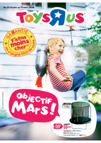 Prospectus Toys R Us MARNE la VALLEE : Objectif mars !