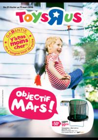 Prospectus Toys R Us VILLEBON sur YVETTE : Objectif mars !