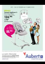 Prospectus Aubert : Go, les prix promos !
