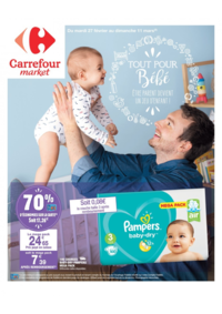 Prospectus Carrefour Market PECHBONNIEU : Tout pour bébé
