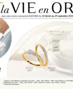 Catalogues et collections Auchan : La Vie en Or : mariage