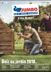 Prospectus Jumbo Maximo Allmendingen b. Bern : Bois au jardin 2018