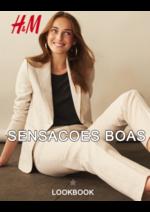 Catálogos e Coleções H&M : Lookbook mulher Sensacoes boas